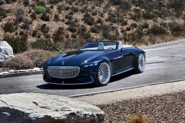 معرفی مرسدس می باخ Version 6 Cabriolet کانسپت تمام الکتریکی