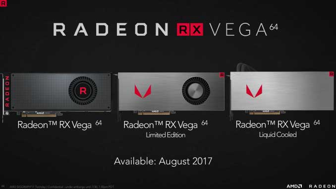 گرافیکهای جدید گیمینگ AMD آمدند : سری ردئون RX Vega