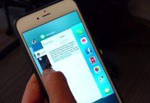 3D تاچ برای سوئیچ بین اپلیکیشنها در آپدیت بعدی iOS 11