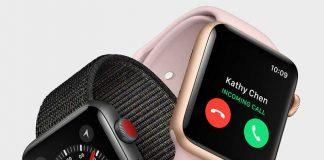 معرفی اپل واچ سری 3 با امکان مکالمه مستقیم از 399 دلار!