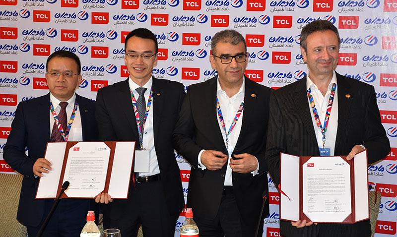 معرفی مادیران به عنوان شریک تجاری TCL در بازار ایران