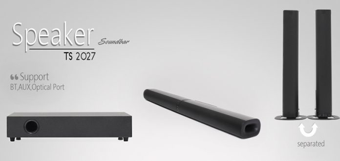 ساندبار تسکو TS-2027 موسیقی به توان سه!