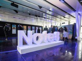 سامسونگ گلکسی Note8 در ایران رونمایی شد