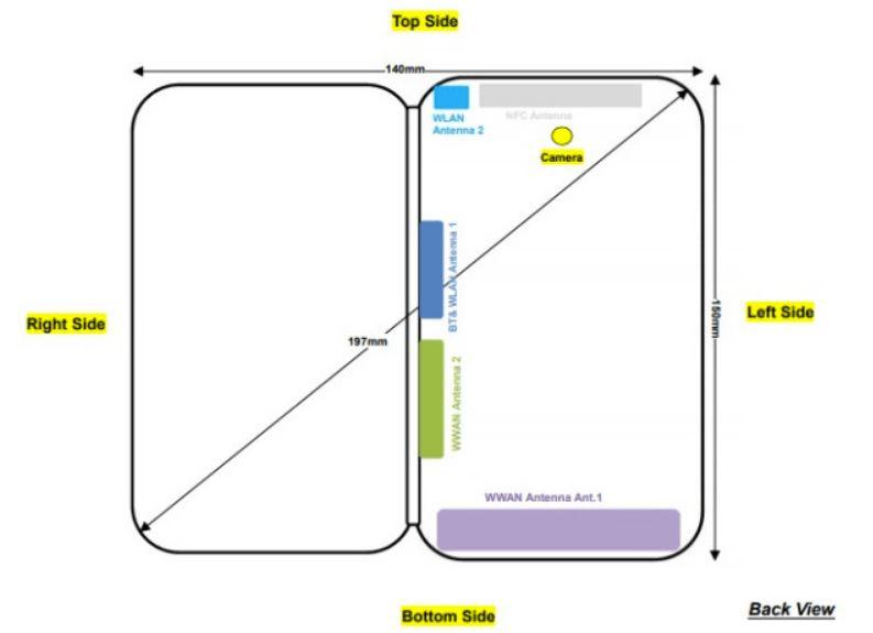 ZTE به زودی یک موبایل تاشو ارائه میکند+ اطلاعات جدید