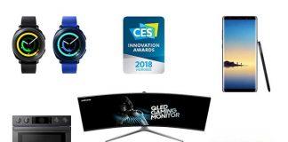 36 جایزه برای سامسونگ در CES 2018 - معرفی Exynos 9810