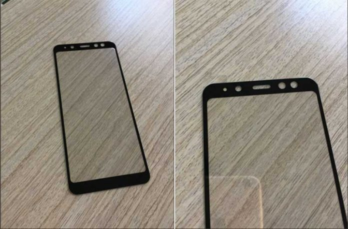 یک سورپرایز سامسونگی، تصویر پنل رویی Galaxy A8 2018