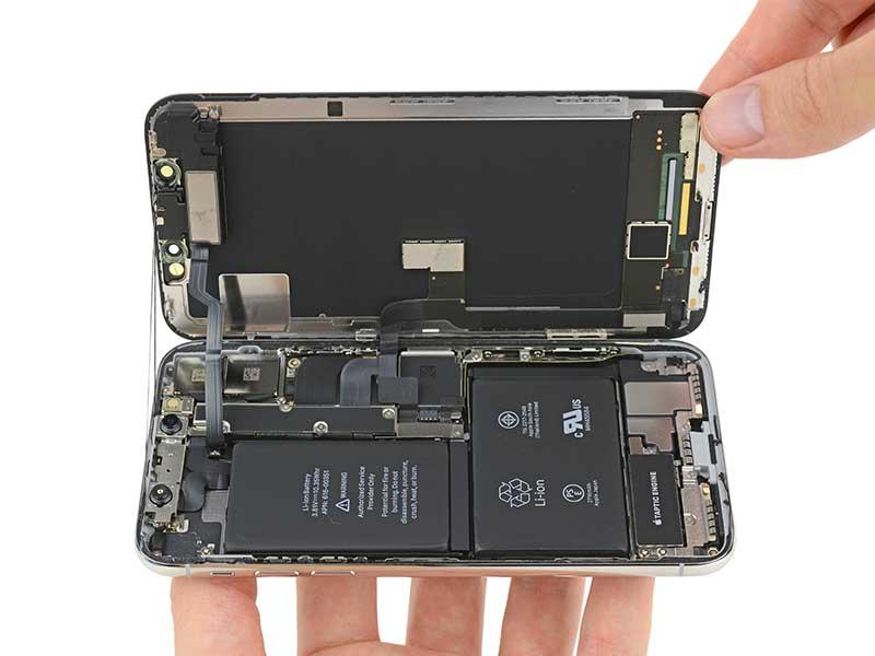 کالبدشکافی اشرافی: آیفون 10 اپل دو باتری دارد!