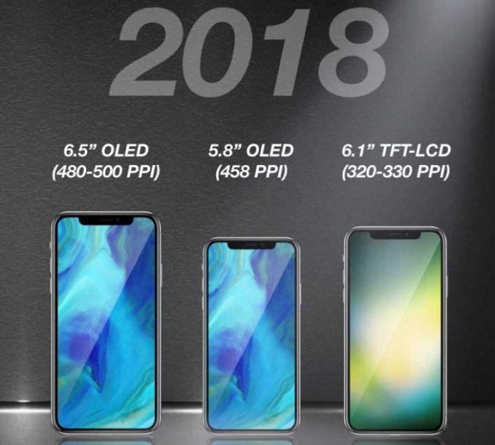 سال آینده منتظر 3 آیفون مشابه آیفون X باشید