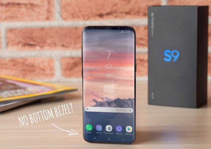 Galaxy S9 با حاشیهای در حد هیچ میآید؟