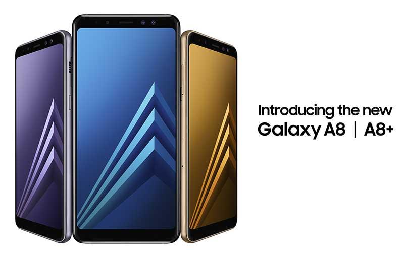 سامسونگ گلکسی A8 2018 و A8+ 2018 معرفی شدند