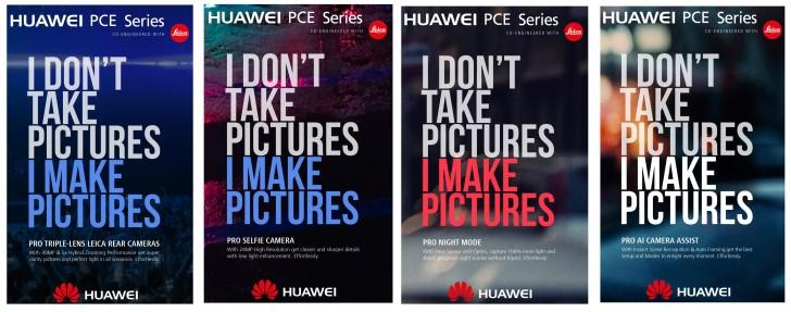 Huawei P11 با سه دوربین در بخش پشتی: عکس 40MP