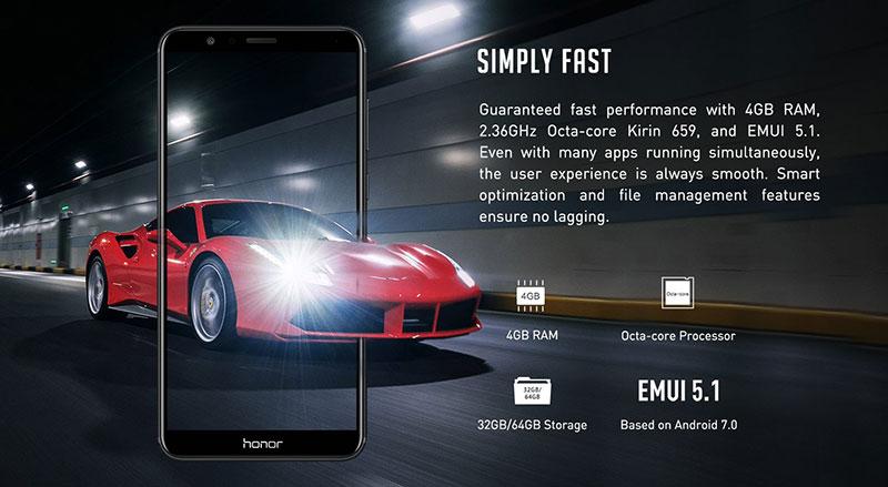 نسخه جهانی honor 7X معرفی شد بدون تغییر فقط 199$