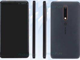 اولین فولاسکرین فنلاندی: تصویر و مشخصات Nokia 6 2018