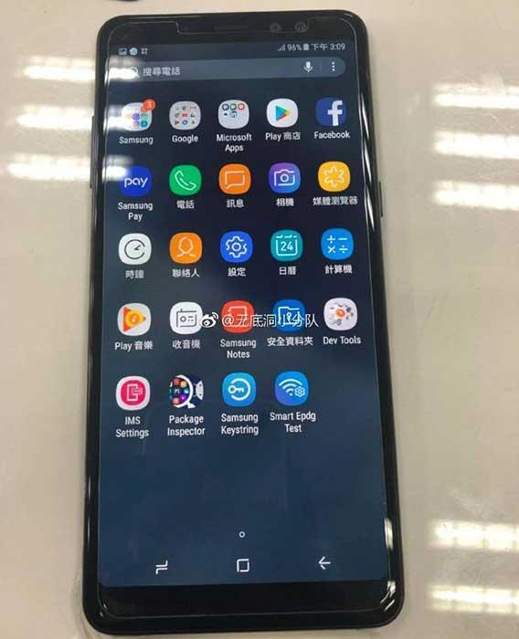 با Galaxy A8 پلاس 2018 با طراحی بدون حاشیه آشنا شوید