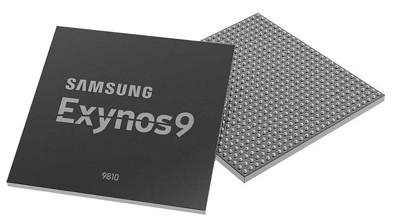 معرفی جدیدترین و قویترین پروسسور سامسونگ : Exynos 9810