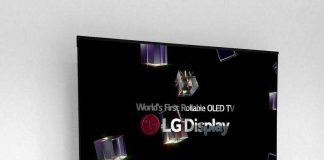 معرفی تلویزیون OLED قابل رول شدن 65 اینچی LG