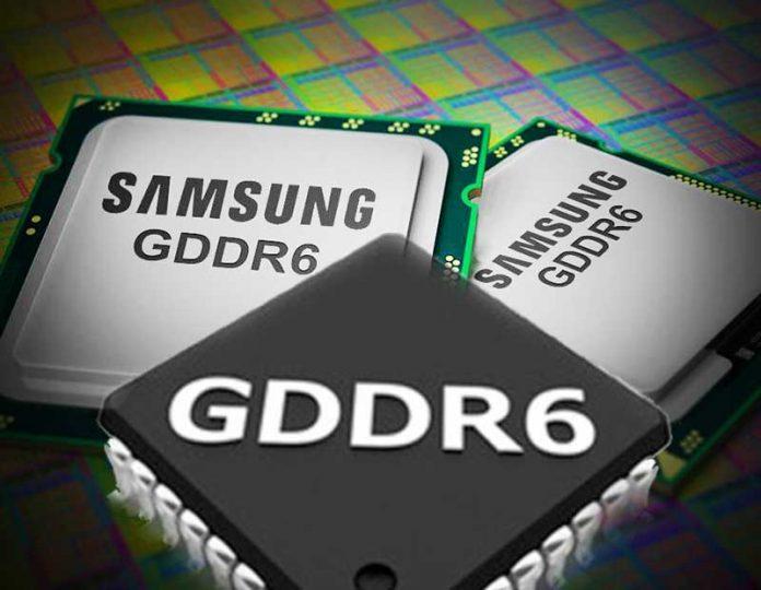 آغاز تولید چیپهای GDDR6 سامسونگ برای نسل بعدی کارتهای گرافیک