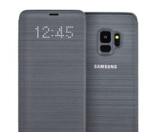 نسخه رسمی قاب گلکسی S9 با طراح Clear View معرفی شد