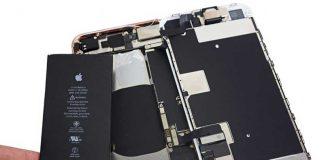 استفاده از قطعه نامناسب برای iPhone 8 Plus در یک کارخانه اپل