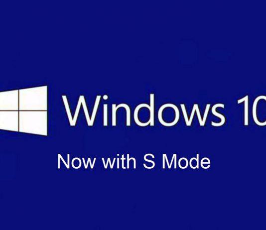 حالت S ویندوز 10 برای همه نسخهها ارائه میشود
