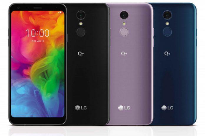 سهگانه LG Q7 رونمائی شدند: معمولی، آلفا، پلاس