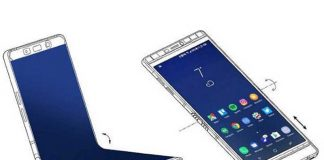 موبایل تاشوی سامسونگ با 3 صفحهنمایش 3.5 اینچی OLED؟