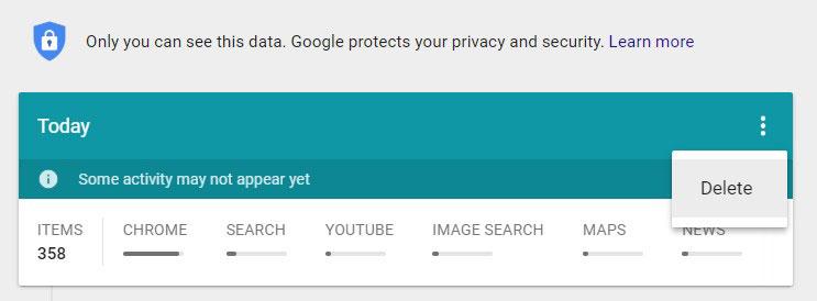 چگونه سابقه گوگل خود را کاملا پاک کنیم!