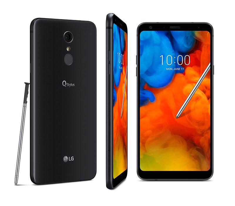 LG Q Stylus سهگانهای با قلم و صفحهنمایش 6.2 اینچ