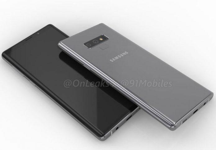 Galaxy Note9 با محل جدید اثر انگشت و یک دکمه رازآلود!