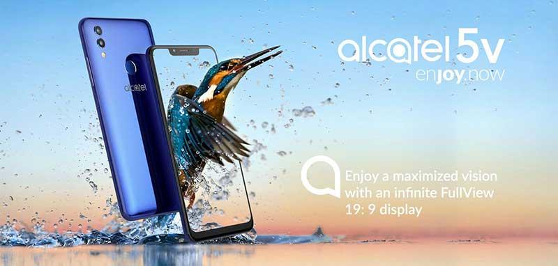 معرفی آلکاتل 5V با صفحهنمایش 6.2 اینچی و باتری 4,000mAh