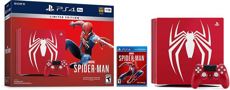 عرضه PS4 Pro اسپایدرمن به صورت محدود و Limited