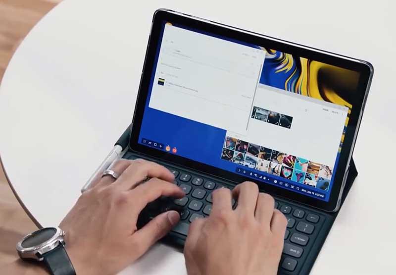 """گلکسی Tab S4 با صفحهنمایش """"10.5 پایه DeX، قلم S Pen"""