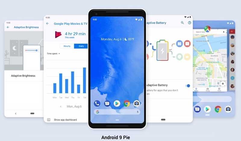 اندروید P رسما نامگذاری شد: Android 9 Pie آمد