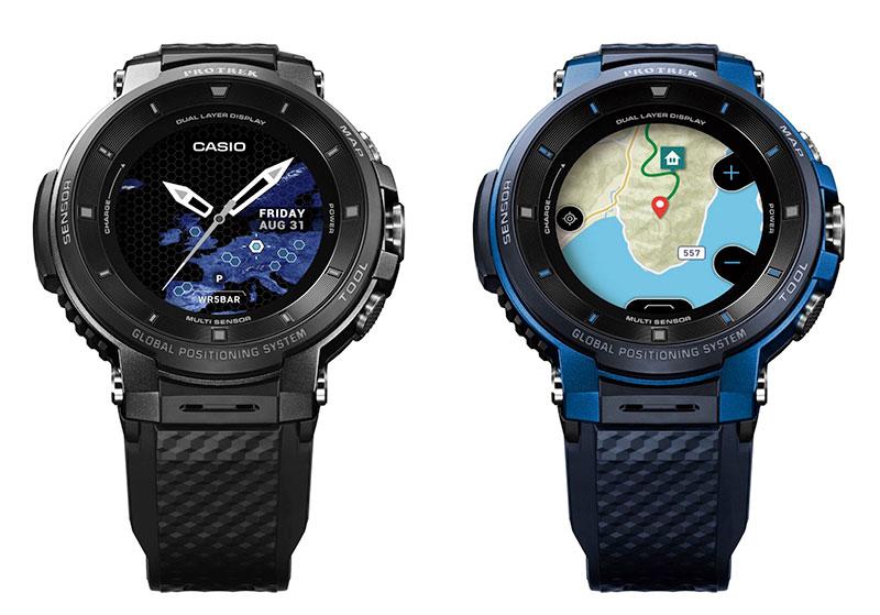 WSD-F30 ساعت هوشمند کاسیو با GPS و نقشههای آفلاین