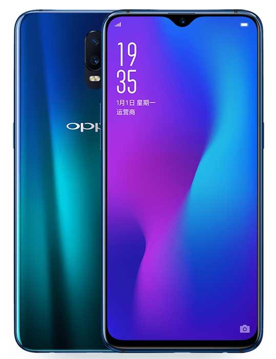 معرفی Oppo R17 با اثر انگشت زیر لایه صفحهنمایش