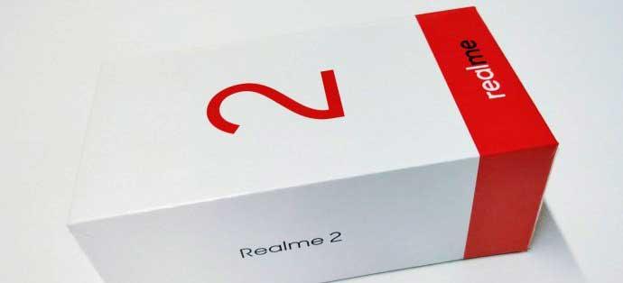 Oppo Realme 2 لو رفت: طراحی+جعبه محتویات
