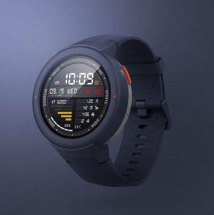 شیائومی Amazfit Verge ساعت GPS با پنل دایرهای OLED