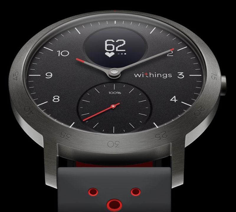 Steel HR Sport ساعت هوشمند ترکیبی Withings