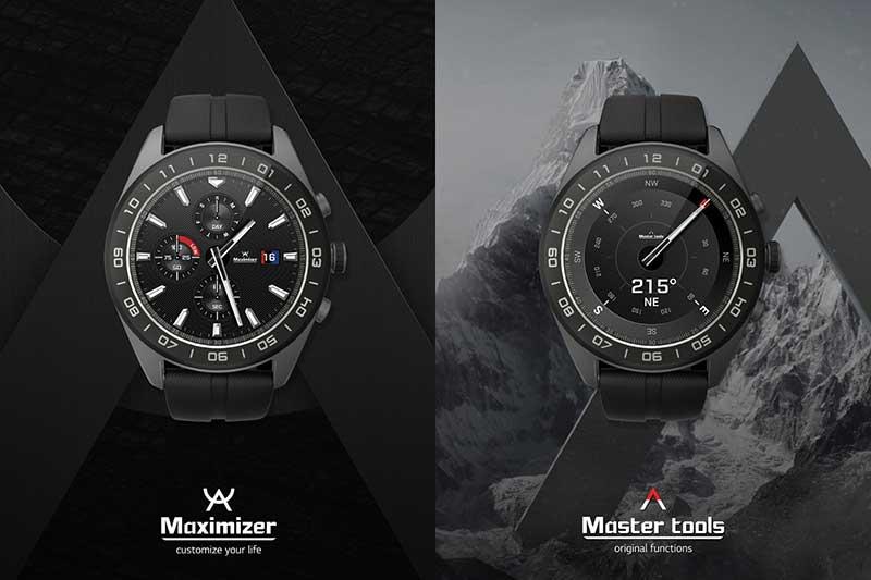 LG Watch W7 اسمارتواچی با عقربههای کلاسیک