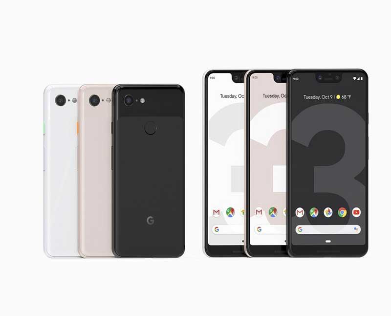 معرفی گوگل Pixel 3 و Pixel 3 XL پرچمداران 800 و 900 دلاری