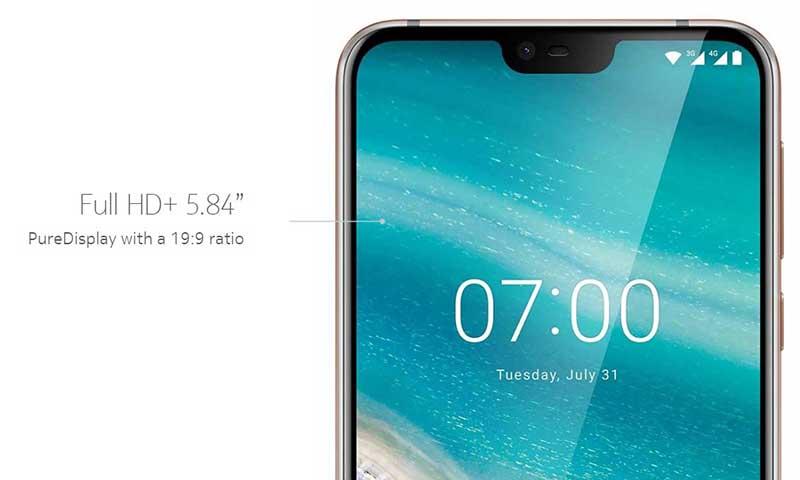 نوکیا 7.1 اسمارتفون 5.84 اینچی با Snapdragon 636