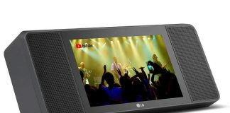 XBOOM AI ThinQ WK9 نمایشگر هوشمند LG آمد