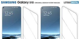صفحهنمایش Infinity O طراحی گلکسی S10 را لو داد
