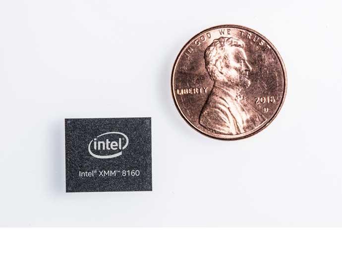 XMM 8160 اولین مودم 5G اینتل