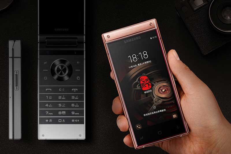 سامسونگ W2019 تاشوی اشرافی جدید برای بازار چینسامسونگ W2019 تاشوی اشرافی جدید برای بازار چین