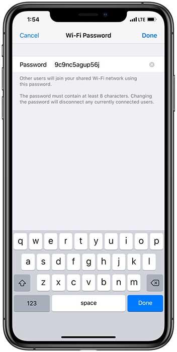 همه تنظیمات هات اسپات آیفون روی آخرین نسخه iOS