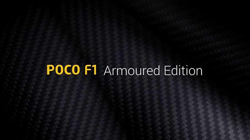 معرفی نسخه 128GB پوکو F1 نسخه Armoured Edition