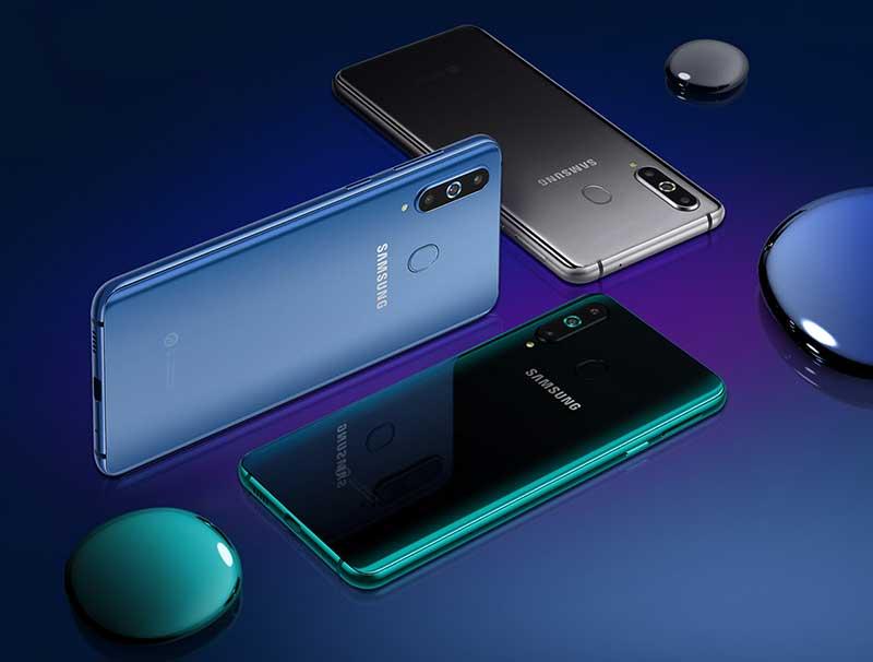 با Galaxy A8s آشنا شوید اولین Infinity-O سامسونگ با SD 710
