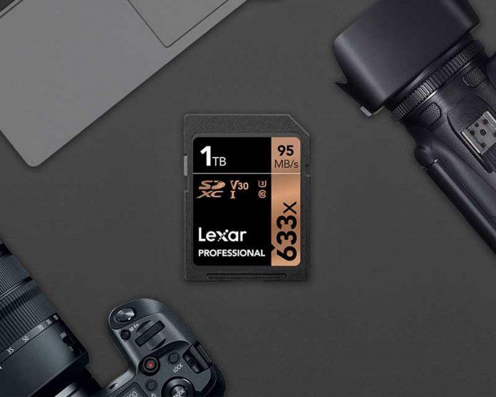 لکسار اولین کارت حافظه 1 ترابایتی SDXC را عرضه کرد