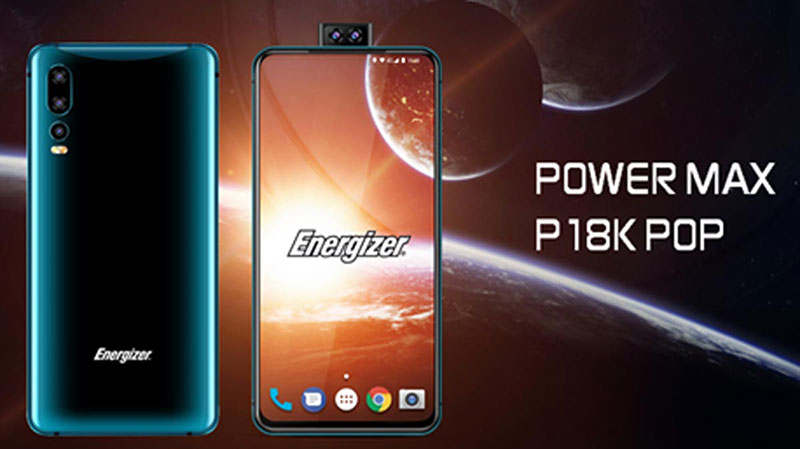 انرجایزر Power Max P18K Pop با باتری 18,000mAh